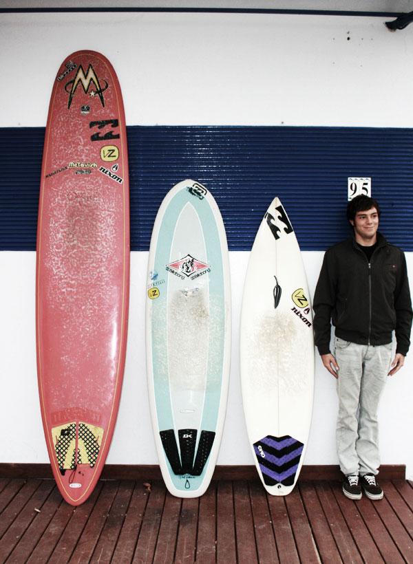 Matteo fabbri itvw campione italiano longboard - Tipi di tavole da surf ...