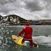 Babbo Natale Fa Surf a Levanto