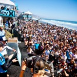 Folla in spiaggia