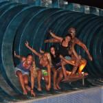 Valentina, Elena, Giuia e Giorgia a Ericeira