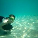 A Waimea...anche le ragazze si allenano sott'acqua per il big wave-riding