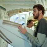 Pito e Thomas al Varazze Surf Shop con Filippo Piacentini