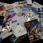 Una delle cose belle di Ispo e' che puoi fare il pieno di riviste... gratis!