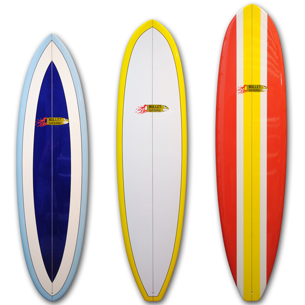 Bullet surfboards