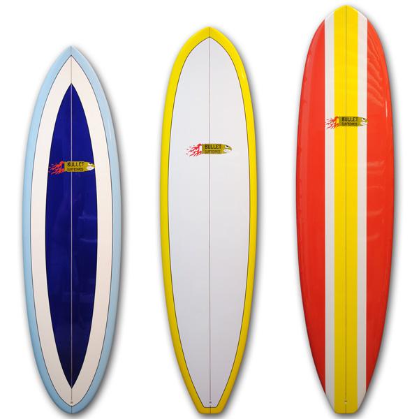 Bullet surfboards