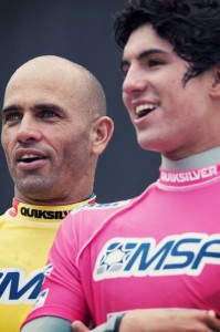 Quiksilver_Pro_France_2012_preview_two_generations_kelly_slater_and_gabriel_medina_rabejac
