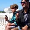 Roberto D'Amico e Max Spolverini, un gelato contro la piatta.