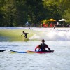 Future surfing star at Wavegarden