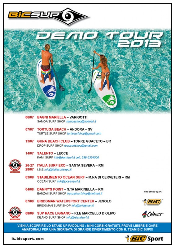 BIC-SUP-DEMO-TOUR-2013