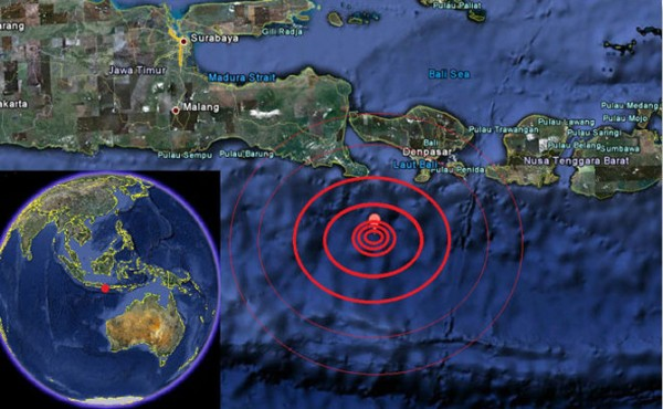 earthquake-map-bali