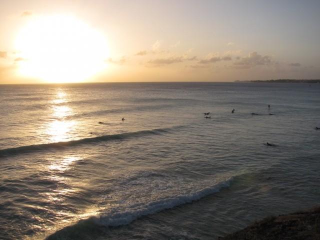 Surf a Barbados 07