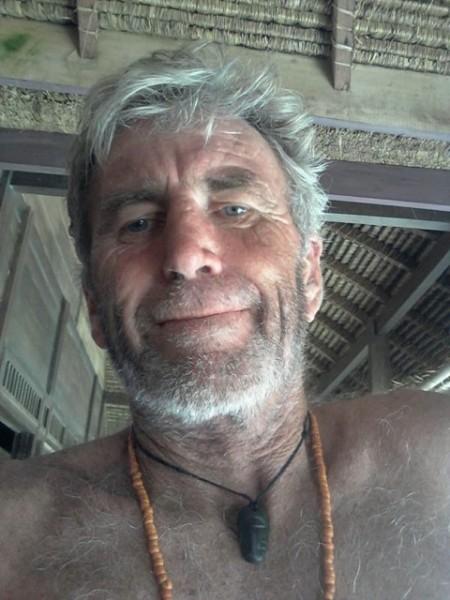 Selfie del Vecchio Leone, io ero svaccato un paio di metri dietro di lui