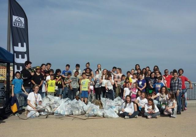 Reef Beach Clean