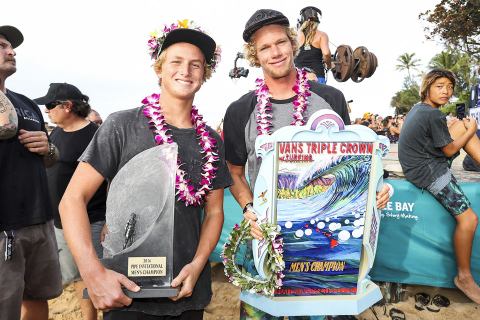 Finn McGill and John John Florence